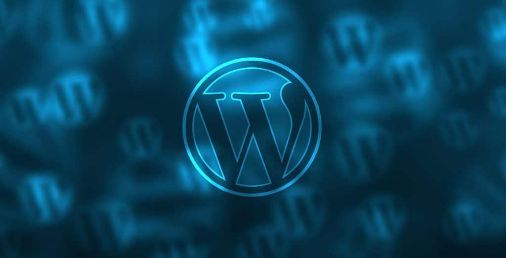 Een website met WordPress
