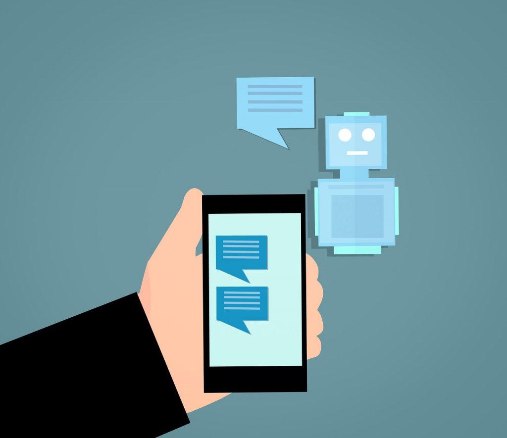 webdesign trends 2019: chatbot